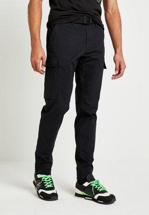 LEWIS HAMILTON CARGO PANT - Pantalon cargo - black