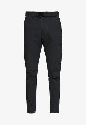 LEWIS HAMILTON CARGO PANT - Pantalones cargo - black