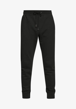 INTARSIA - Pantalon de survêtement - black