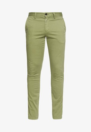 BLEECKER FLEX - Pantalones chinos - green
