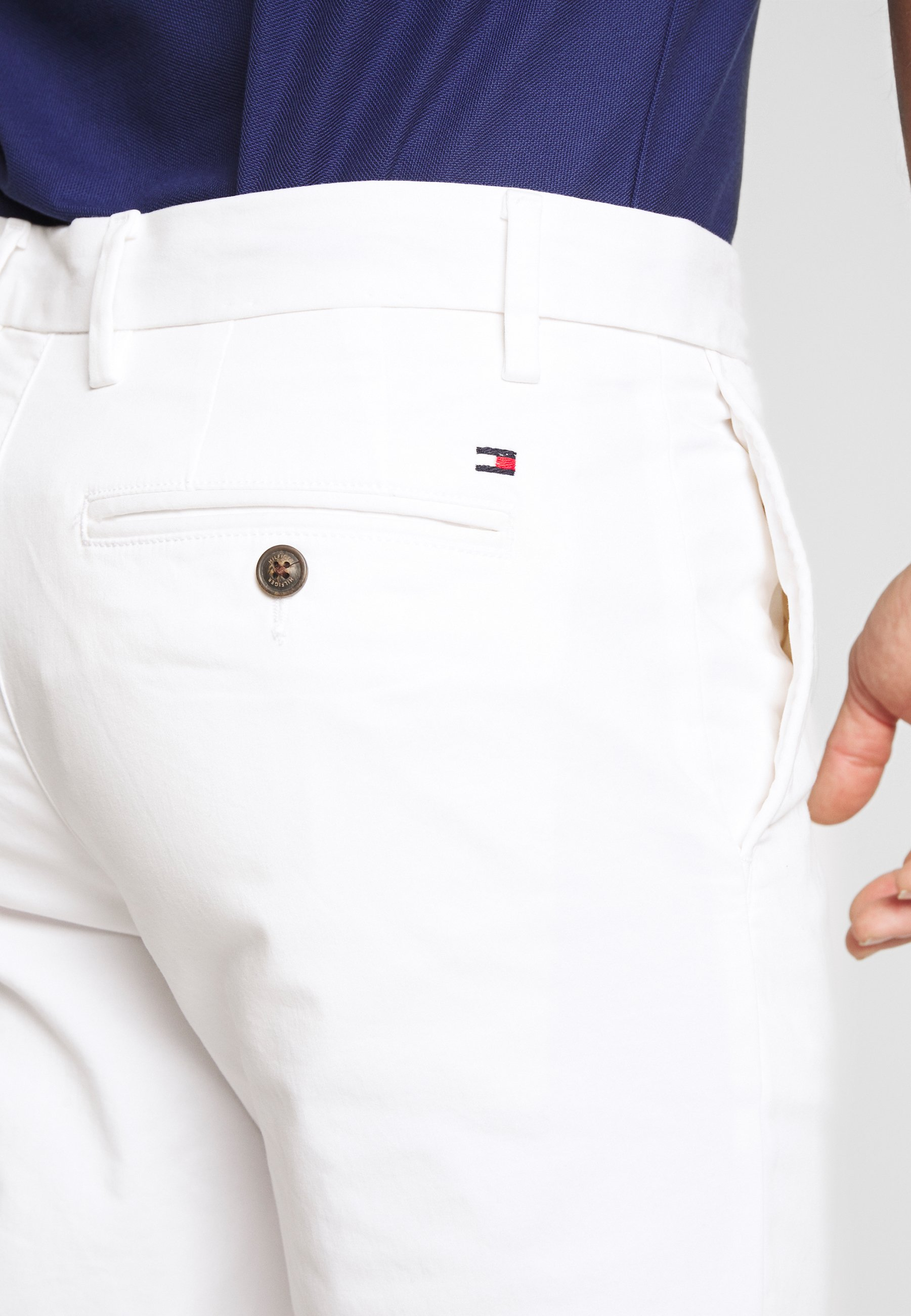 Tommy Hilfiger DENTON FLEX - Chino - white