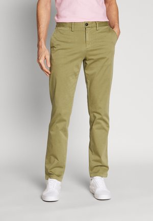DENTON FLEX - Chinos - green