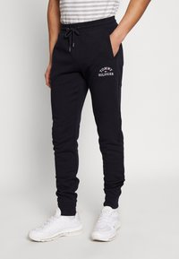 Tommy Hilfiger - BASIC EMBROIDERED PANTS - Trainingsbroek - blue - 0