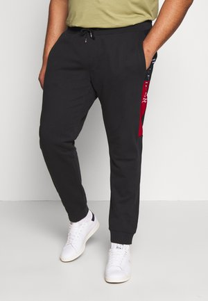 INTARSIA - Trainingsbroek - black
