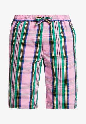LEWIS HAMILTON ALLOVER CHECK SHORT - Shorts - pink