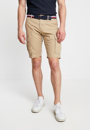JOHN BELT - Shortsit - khaki