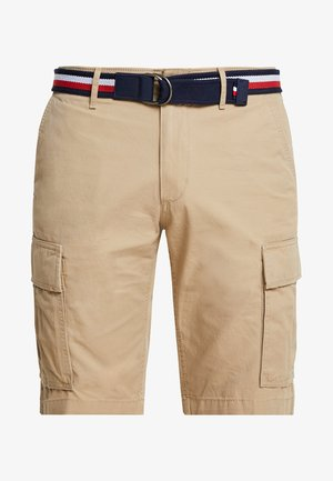 JOHN BELT - Shorts - khaki