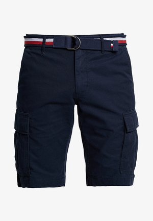 JOHN BELT - Shortsit - blue