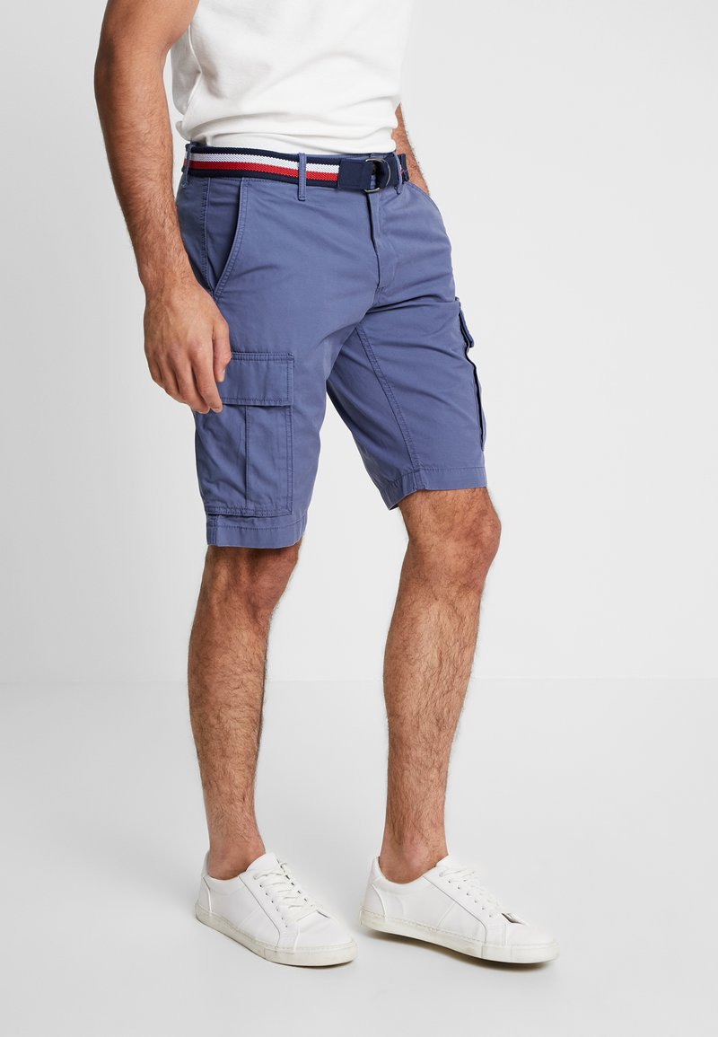 Tommy Hilfiger - JOHN BELT - Shorts - blue