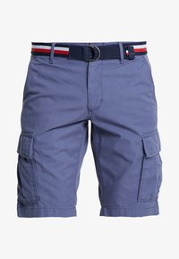 Tommy Hilfiger - JOHN BELT - Shorts - blue - 3