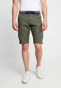 Tommy Hilfiger - JOHN BELT - Shorts - green - 0