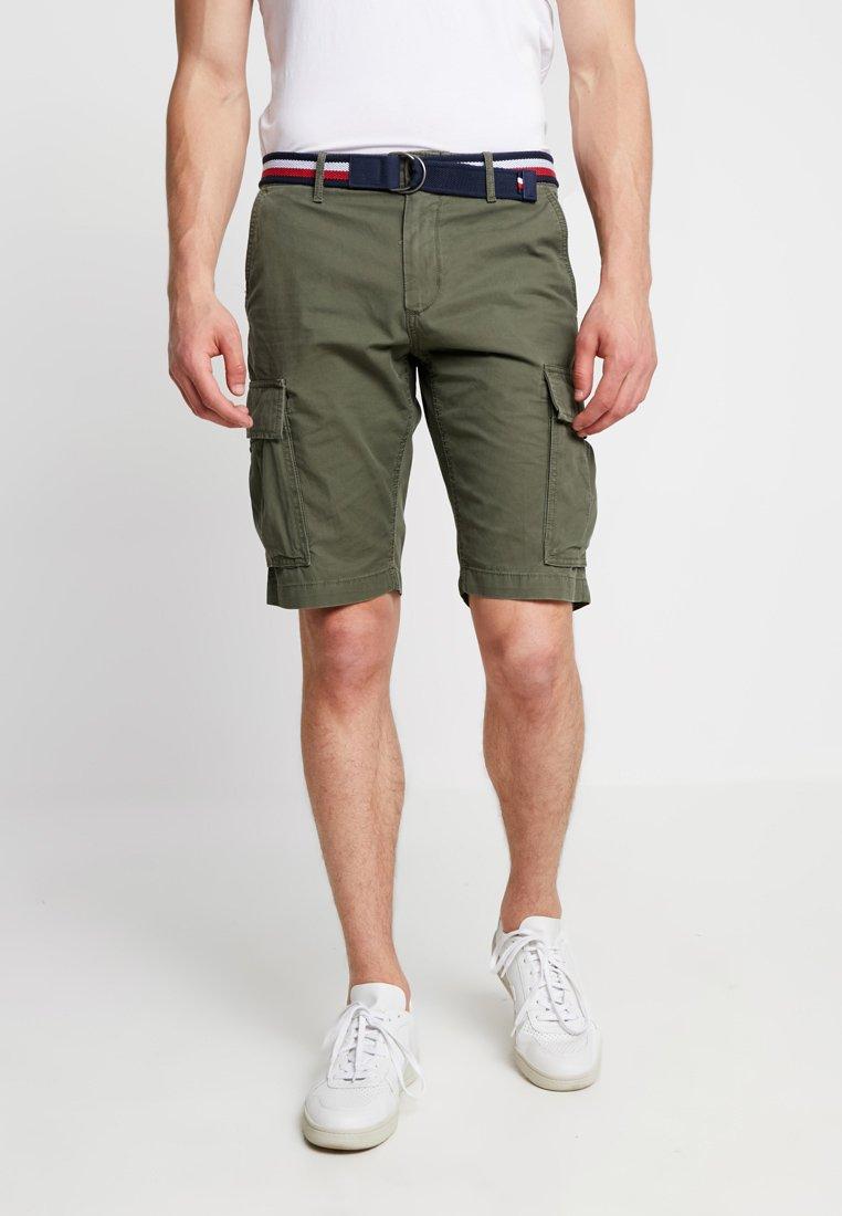 Tommy Hilfiger - JOHN BELT - Shorts - green