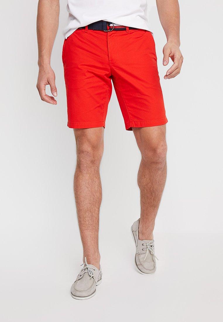 Tommy Hilfiger - BROOKLYN LIGHT BELT - Shorts - red