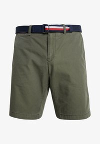 Tommy Hilfiger - BROOKLYN LIGHT BELT - Shorts - green - 4