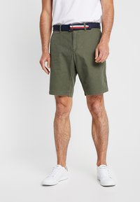 Tommy Hilfiger - BROOKLYN LIGHT BELT - Shorts - green - 0