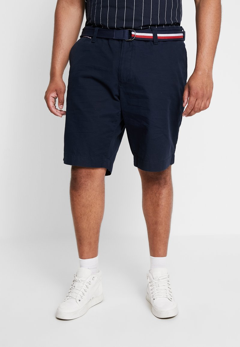 Tommy Hilfiger - BROOKLYN BELT - Shorts - blue