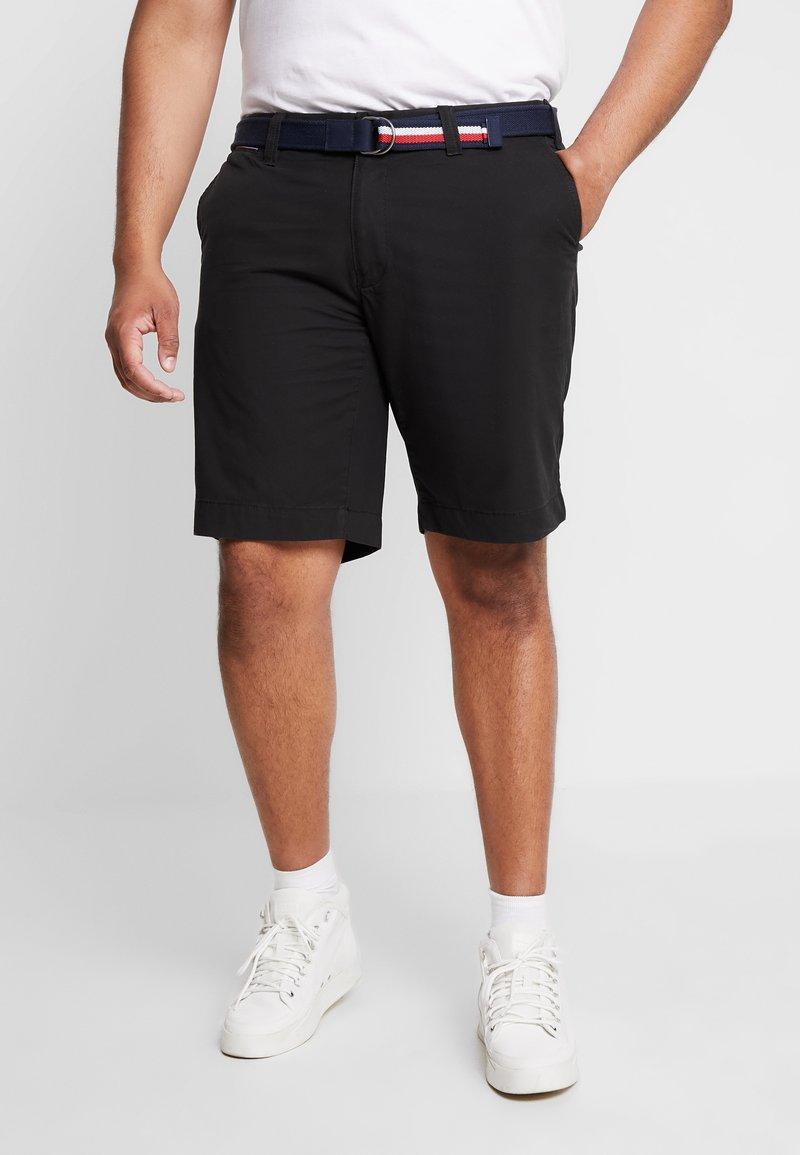 Tommy Hilfiger - BROOKLYN BELT - Shorts - black