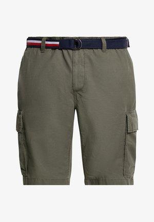 JOHN BELT - Pantalones cargo - green