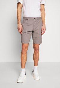 Tommy Hilfiger - BROOKLYN SHORT LIGHT TWILL - Shorts - grey - 0