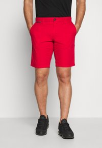 Tommy Hilfiger - BROOKLYN SHORT LIGHT TWILL - Shorts - red - 0