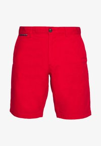 Tommy Hilfiger - BROOKLYN SHORT LIGHT TWILL - Shorts - red - 4