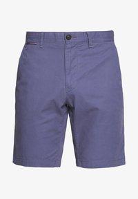 Tommy Hilfiger - BROOKLYN SHORT LIGHT TWILL - Shorts - blue - 4