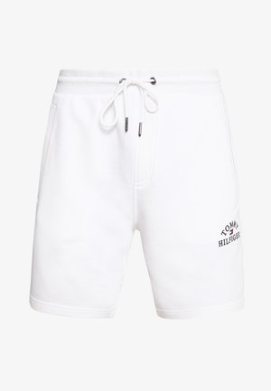BASIC EMBROIDERED  - Shorts - white