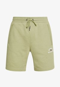 Tommy Hilfiger - BASIC EMBROIDERED  - Shorts - green - 4