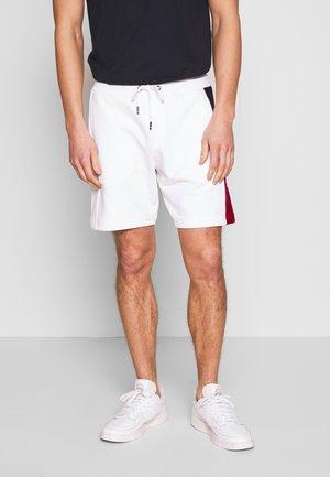 INTARSIA - Shorts - white