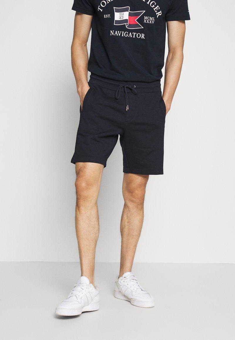 Tommy Hilfiger - INTARSIA - Shorts - blue