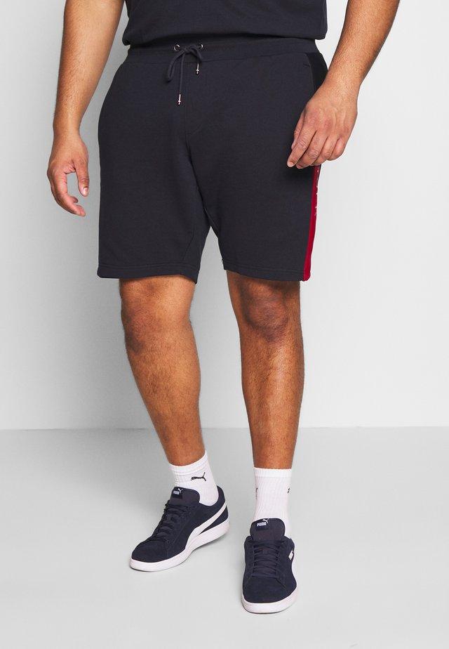 INTARSIA  - Shorts - blue