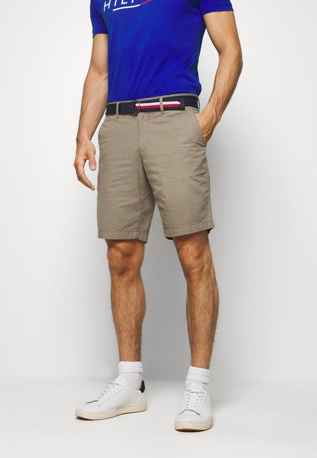 BROOKLYN LIGHT BELT - Shorts - brown
