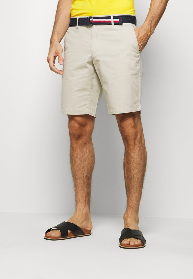 BROOKLYN LIGHT BELT - Shorts - beige