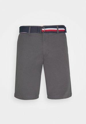 BROOKLYN LIGHT BELT - Shorts - grey