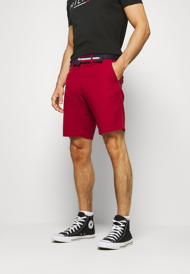 BROOKLYN LIGHT BELT - Shorts - red