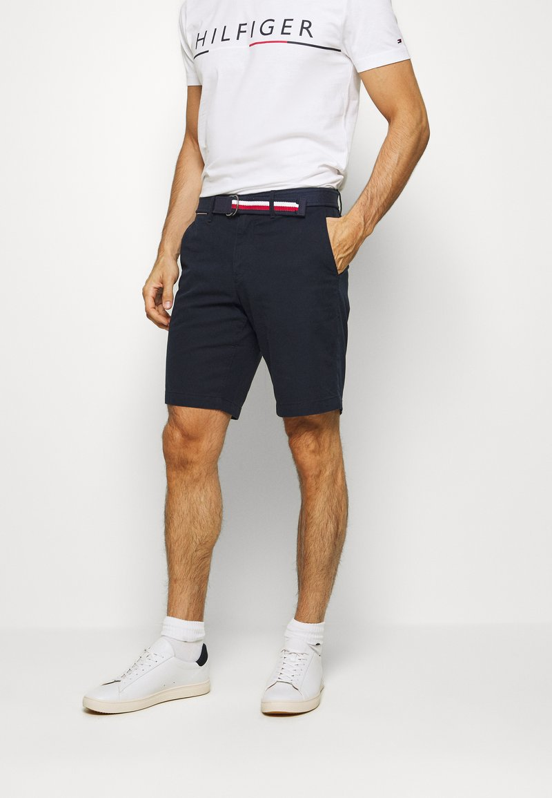 Tommy Hilfiger - BROOKLYN LIGHT BELT - Shorts - blue