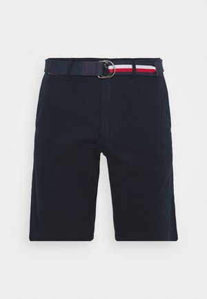 BROOKLYN LIGHT BELT - Shorts - blue