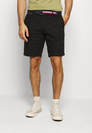 BROOKLYN LIGHT BELT - Shorts - black