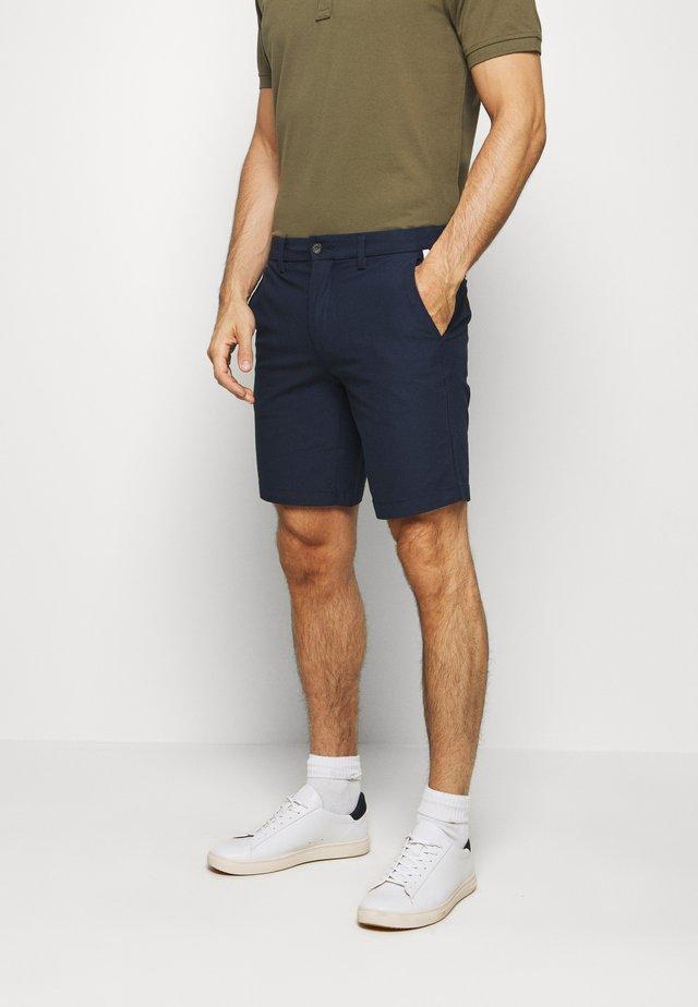 DENTON CORP STRIPE - Shorts - blue