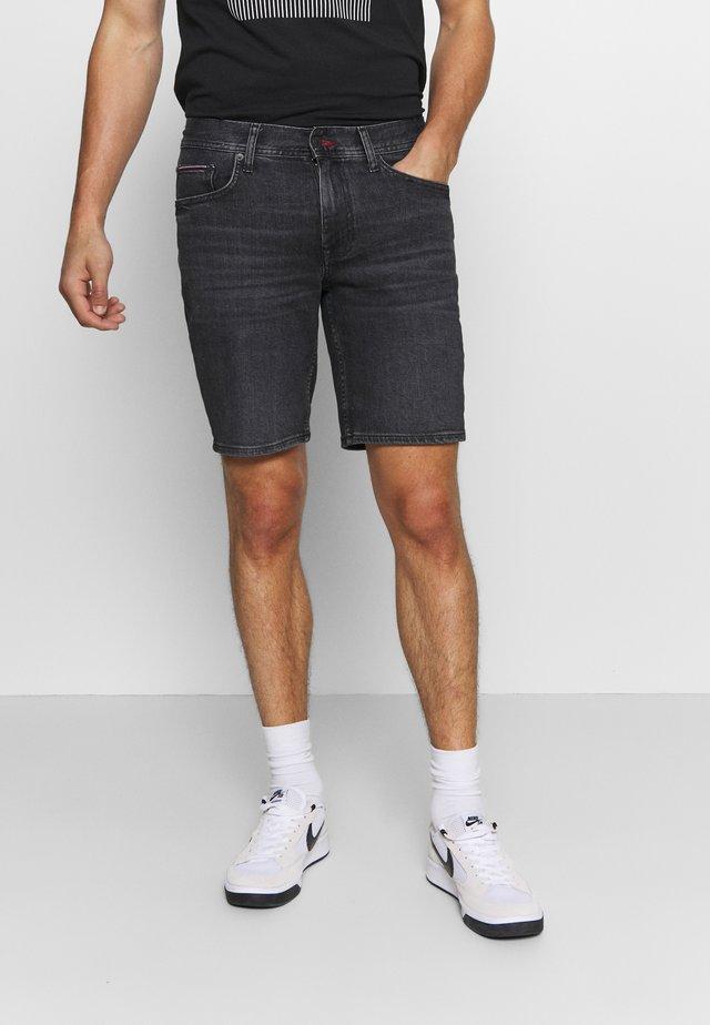 BROOKLYN - Shorts vaqueros - agar black