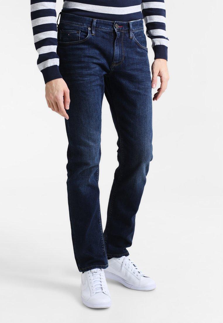 Blue Tommy Hilfiger Men/'s Core Bleecker Slim Jeans
