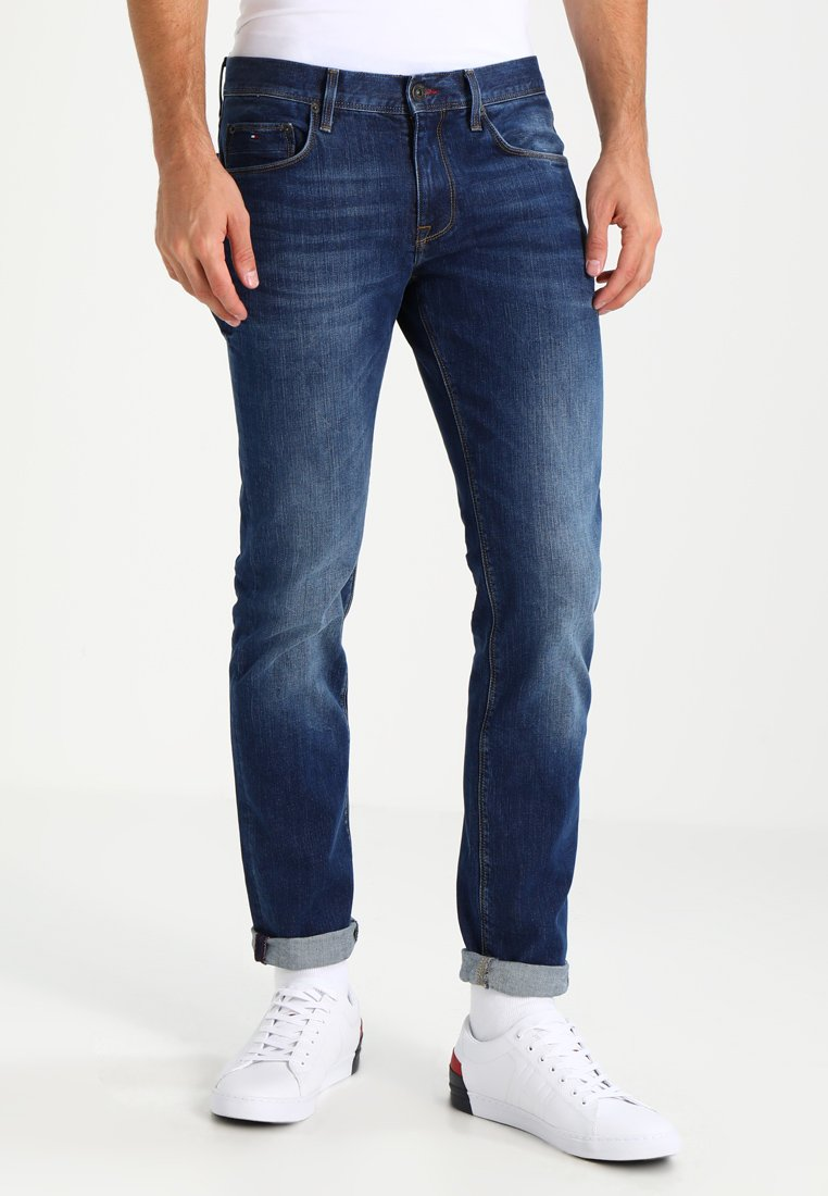 Tommy Hilfiger - DENTON - Straight leg jeans - new mid stone