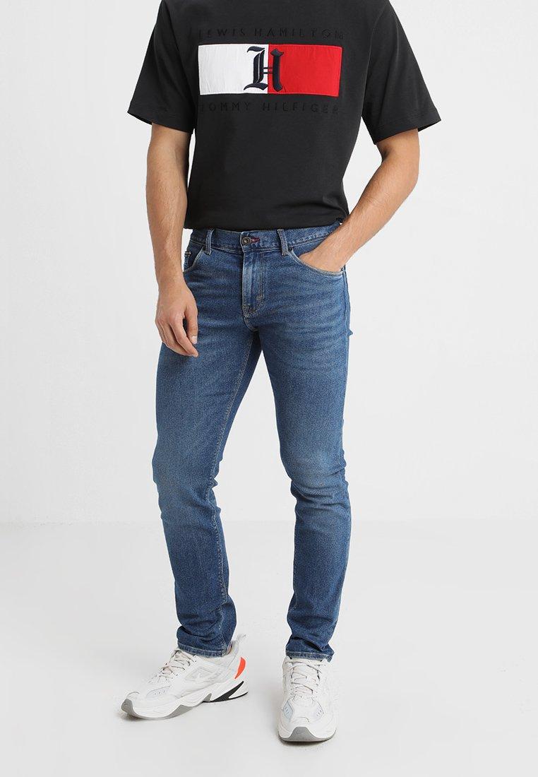 Tommy Hilfiger - SLIM BLEECKER SACO - Slim fit jeans - denim
