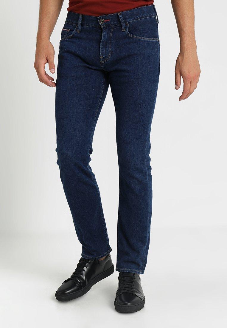 Tommy Hilfiger - DENTON BASIC - Straight leg jeans - denim