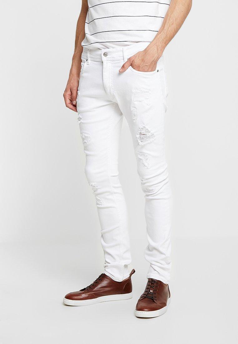 Tommy Hilfiger - LEWIS HAMILTON - Slim fit jeans - white