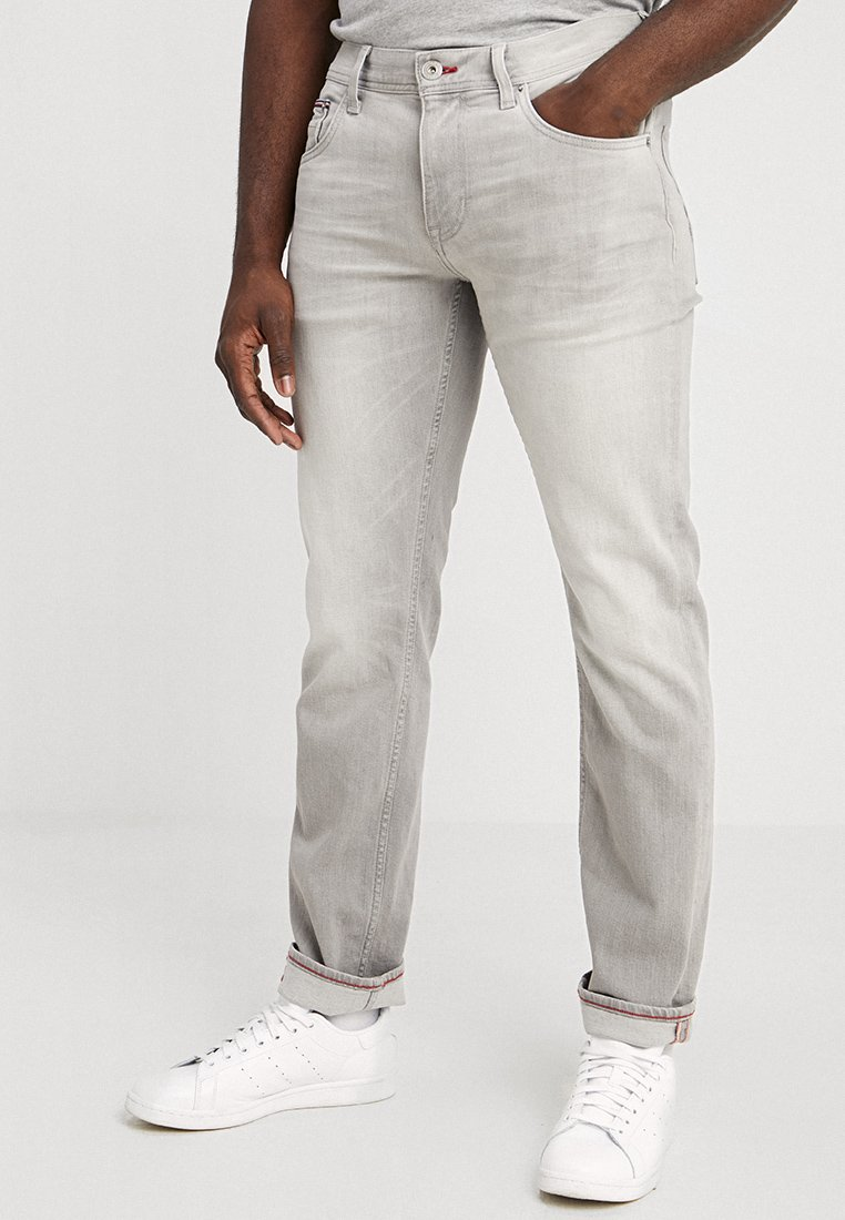 Tommy Hilfiger - DENTON BARBER - Straight leg -farkut - grey