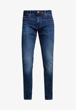 LAYTON PORT - Slim fit -farkut - blue denim