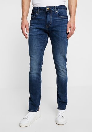 LAYTON PORT - Džíny Slim Fit - blue denim