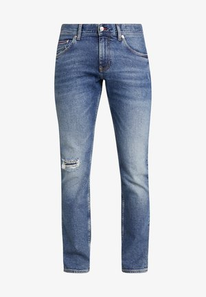 SLIM BLEECKER LOMPOC - Džíny Slim Fit - blue denim