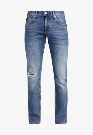 SLIM BLEECKER LOMPOC - Slim fit -farkut - blue denim